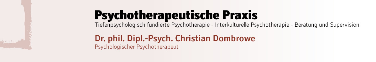PhD Dipl.-Psych. Christian Dombrowe